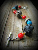 Beautiful Polymer Clay Bracelet~