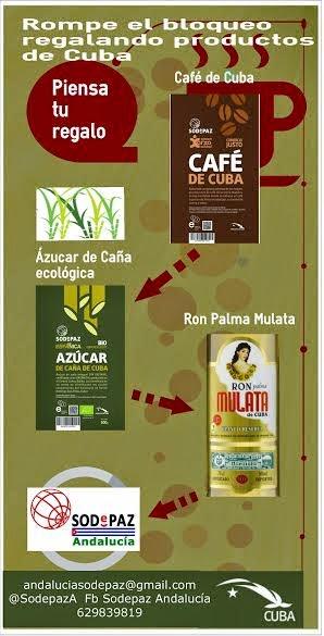 Regala productos de Cuba