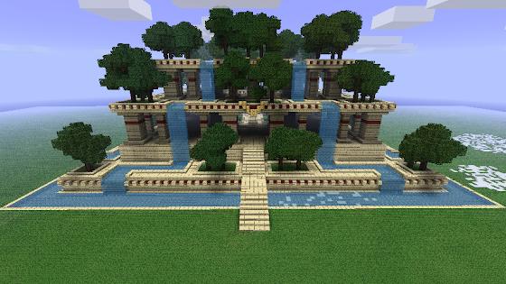 Jardins suspendus Babylone
