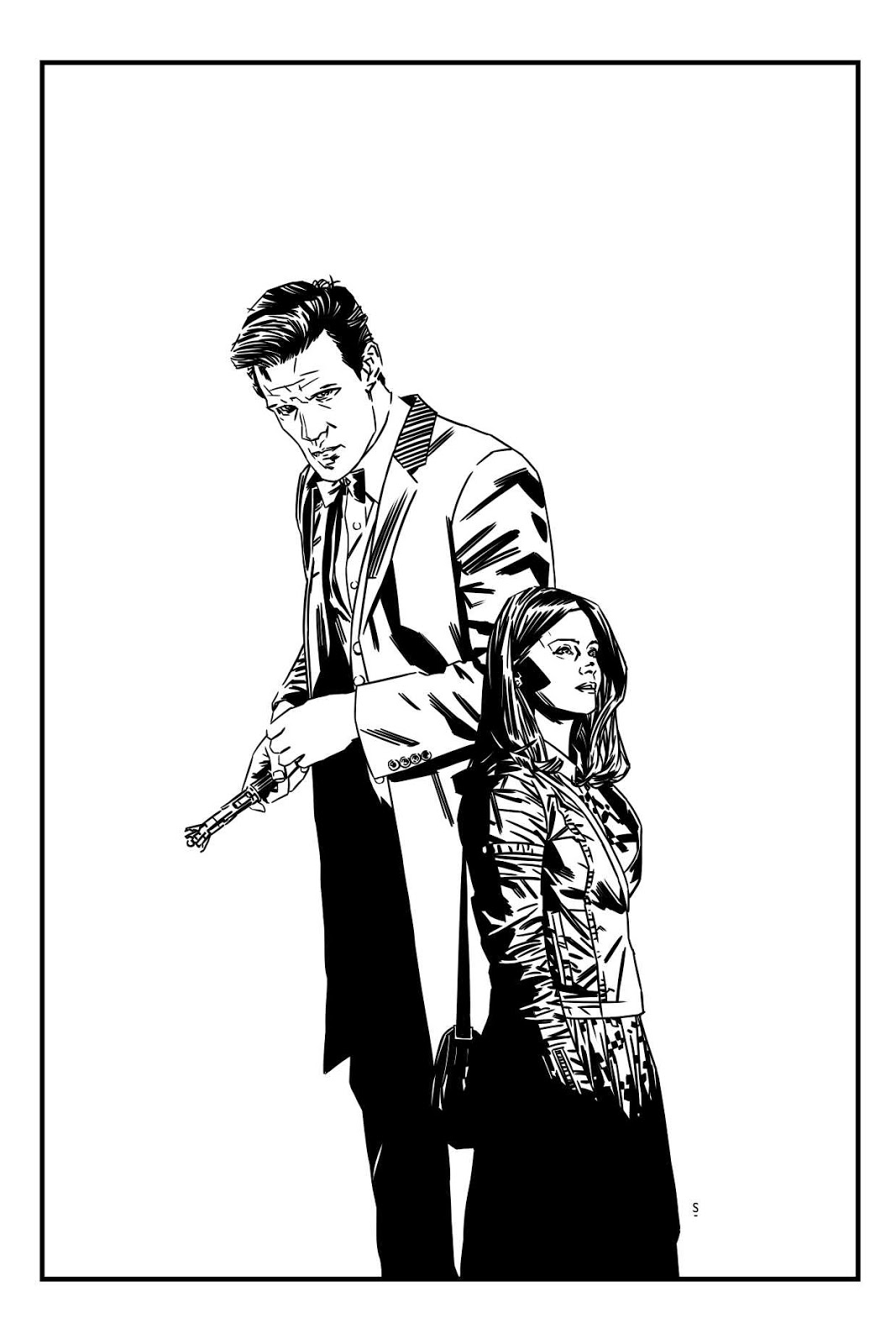 Matt Smith Coloring Pages Doctor Who Coloring Pages Matt Smith