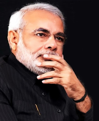 narendra-Modi-with-black-background