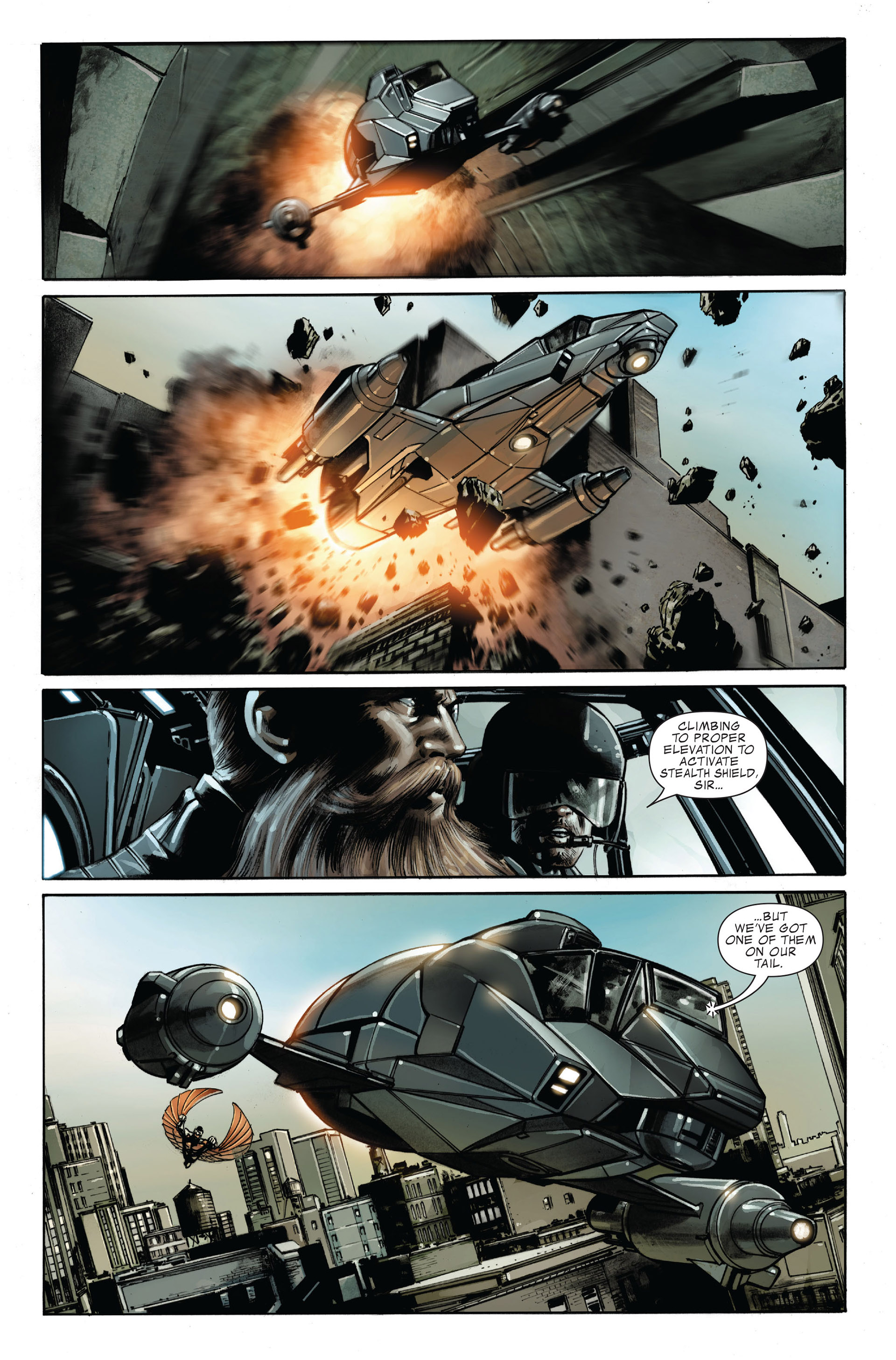 Captain America (2005) Issue #32 #32 - English 19
