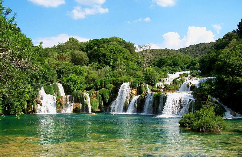 Waterfalls, Krka National+Park