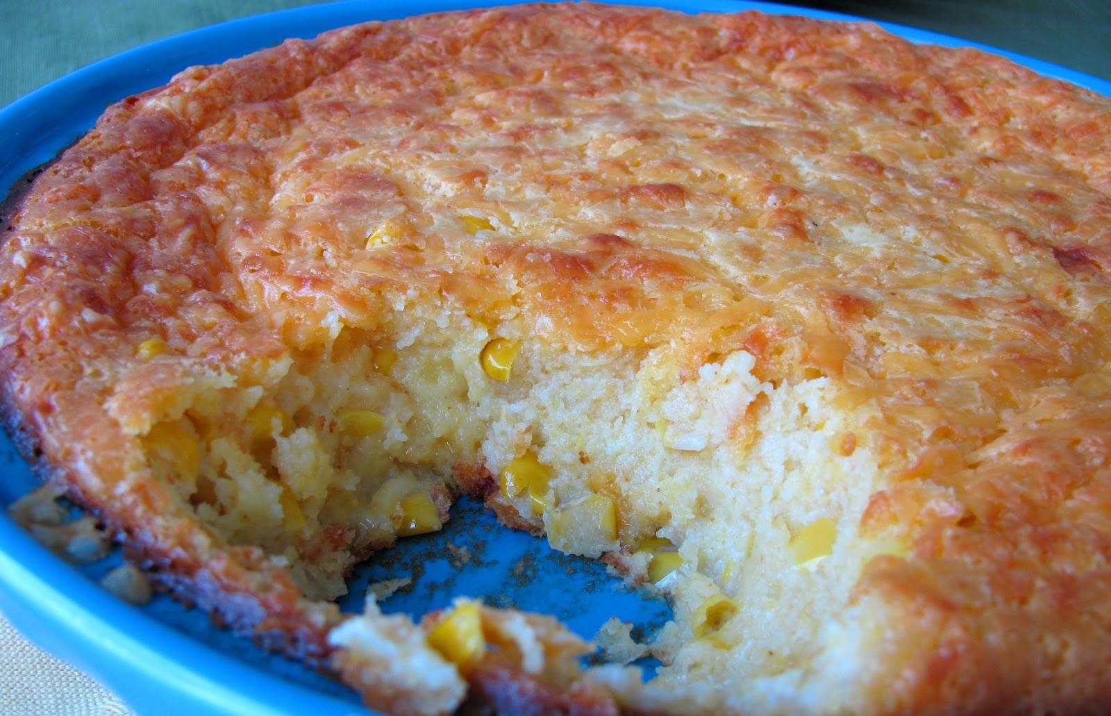 Chena Girl Cooks: Cheesy Corn Casserole