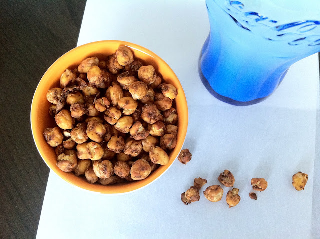 Spiced Roasted Chick Peas Snack