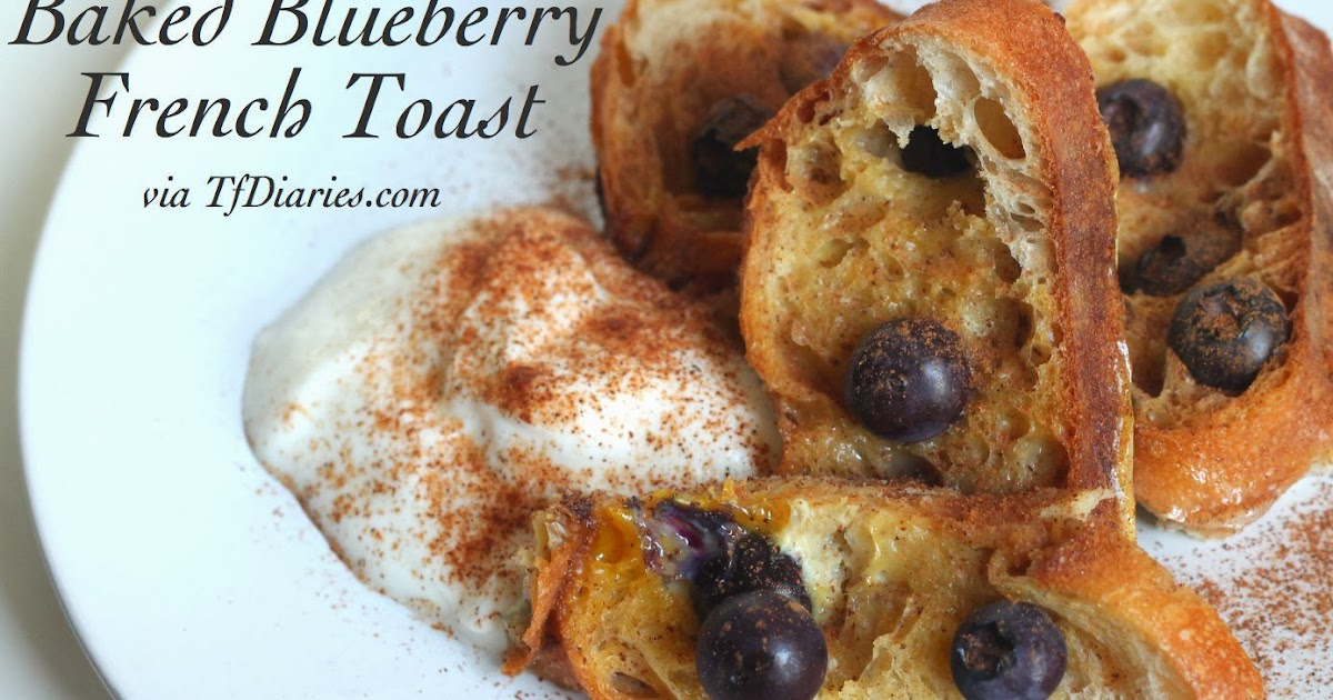 Grilled French Toast With Sausages And Blueberries Recipe ...