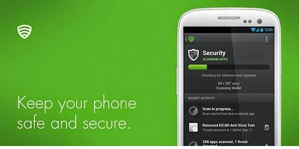 top antivirus android apps 2014