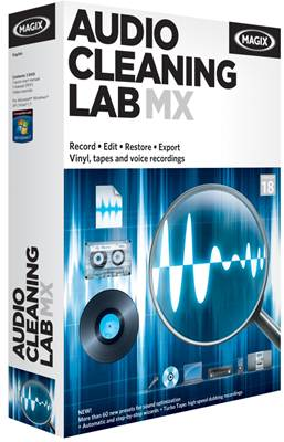 Download - MAGIX Audio Cleaning Lab MX 18.0.0.9 + Crack (2012)