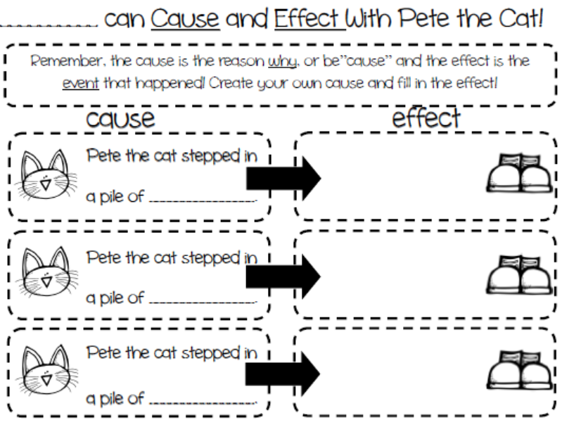 Pete The Cat Worksheets Worksheets for all | Download and Share ...
