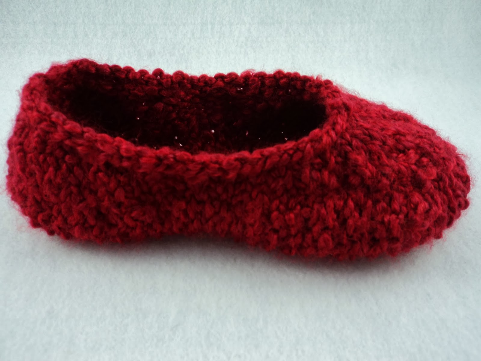 Knit Slippers Pattern : moniqueraedesigns: New! Ladies Knit Slipper Pattern
