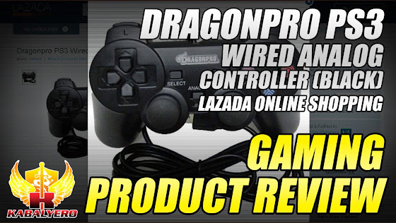 Dragonpro PS3 Wired Analog Controller (Black) - Product Review - Lazada Online Shopping