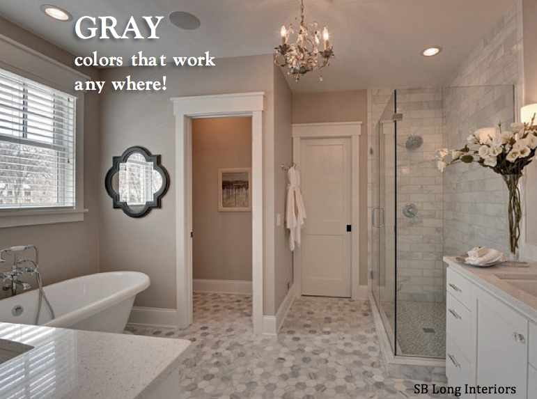 Loveyourroom 4 gray paint colors that work any where for Grey beige paint color