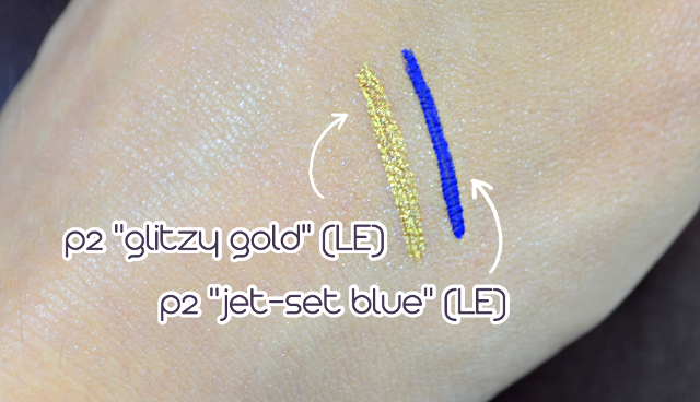 p2 club spirit eyeliner Swatches