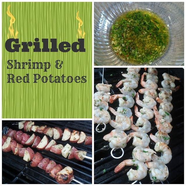Grilled Shrimp & Red Potatoes