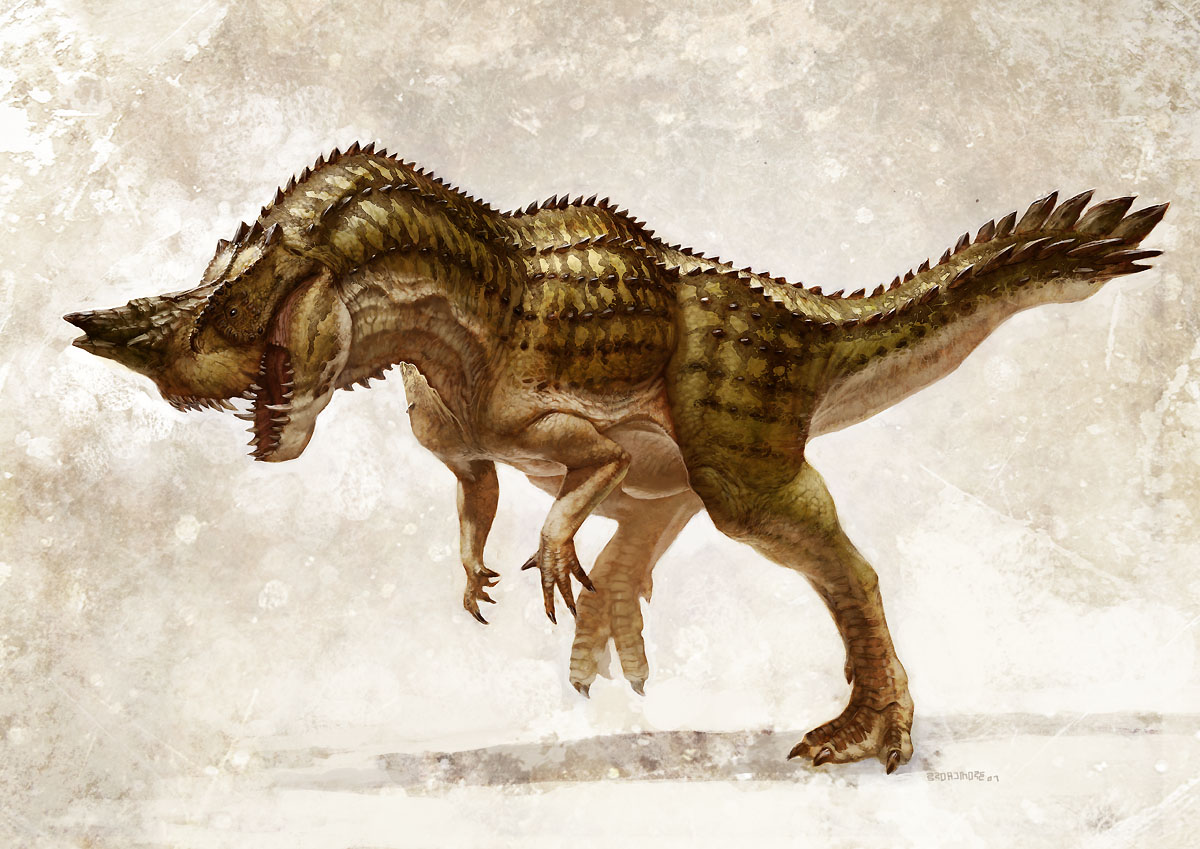 Character and creature design notes an interview with - Dinosaure king ...