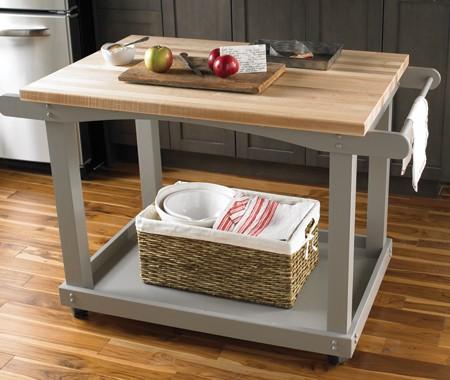 Mi rinc n de sue os carritos como mesa auxiliar en la cocina for Mesa auxiliar de cocina con ruedas