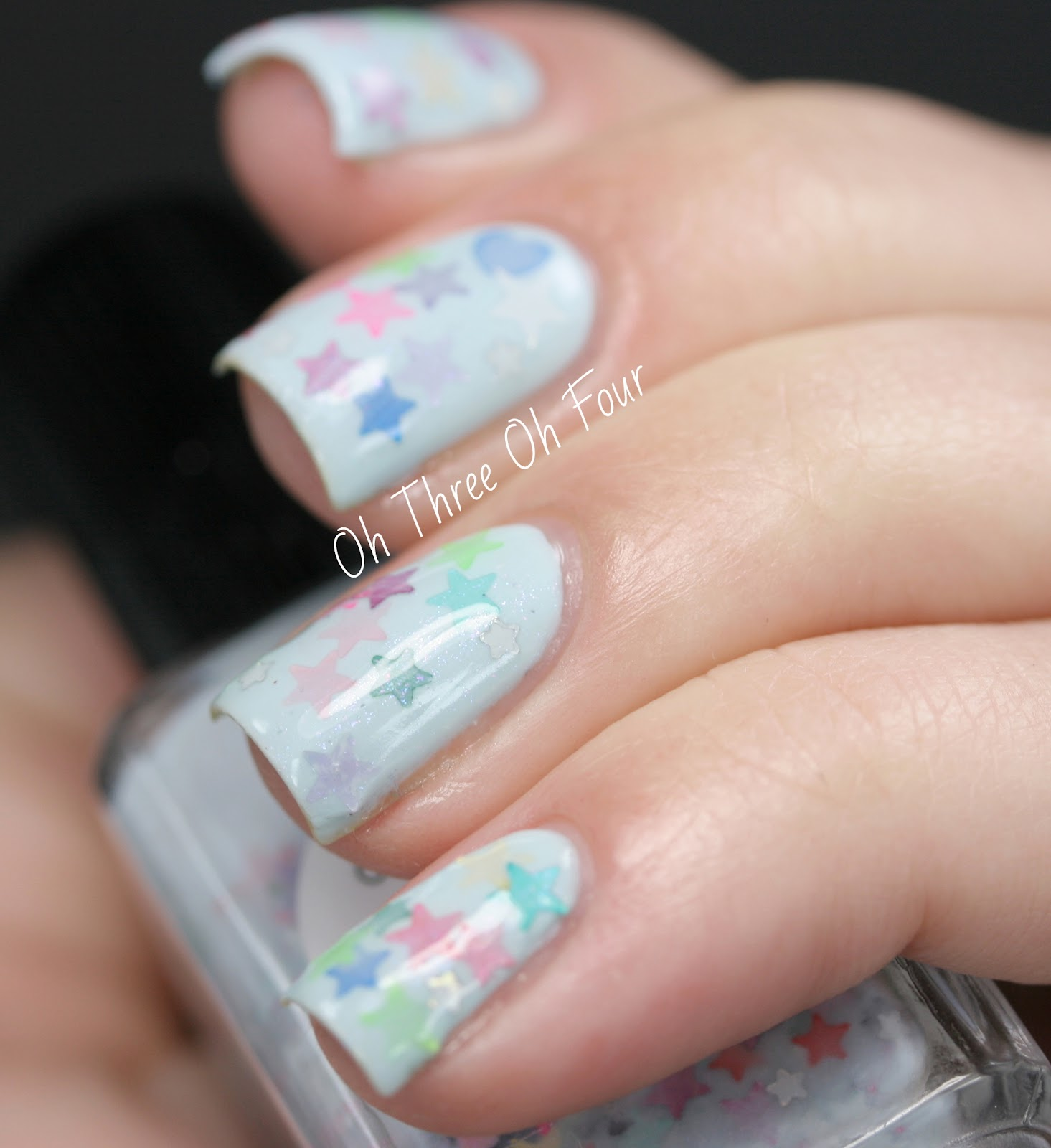Lynnderella Lonely Blue Hearts swatch