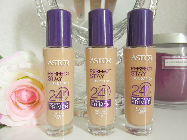 Review & Swatches Astor Perfect Stay Foundation 24h +Perfect Skin Primer