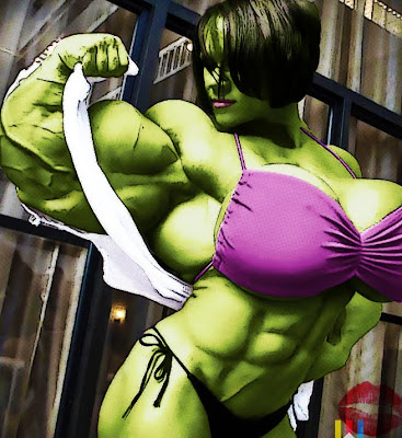 aleesha young she hulk morph
