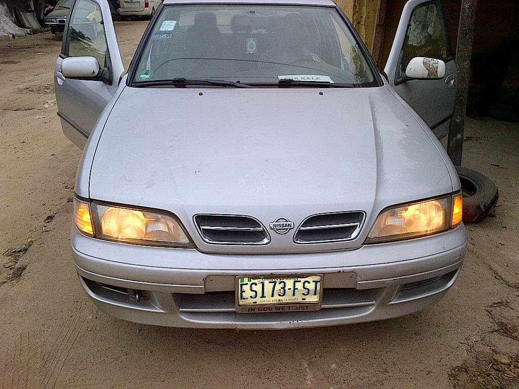 2000 Model Nissan Primera For Sale  Well Maintained Registered In Nigeria Factory Ac 4 Plug