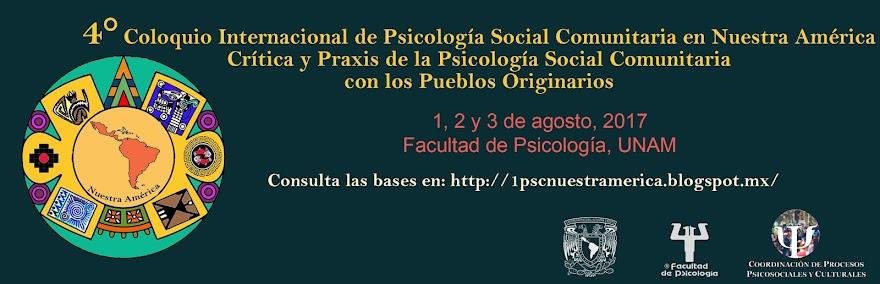 4° Coloquio Internacional de Psicología Social Comunitaria en Nuestra América