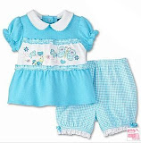 Okie Dokie Baby Blue,18-24M, RM32