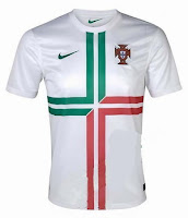 Euro 2012 Portugal Away Jersey