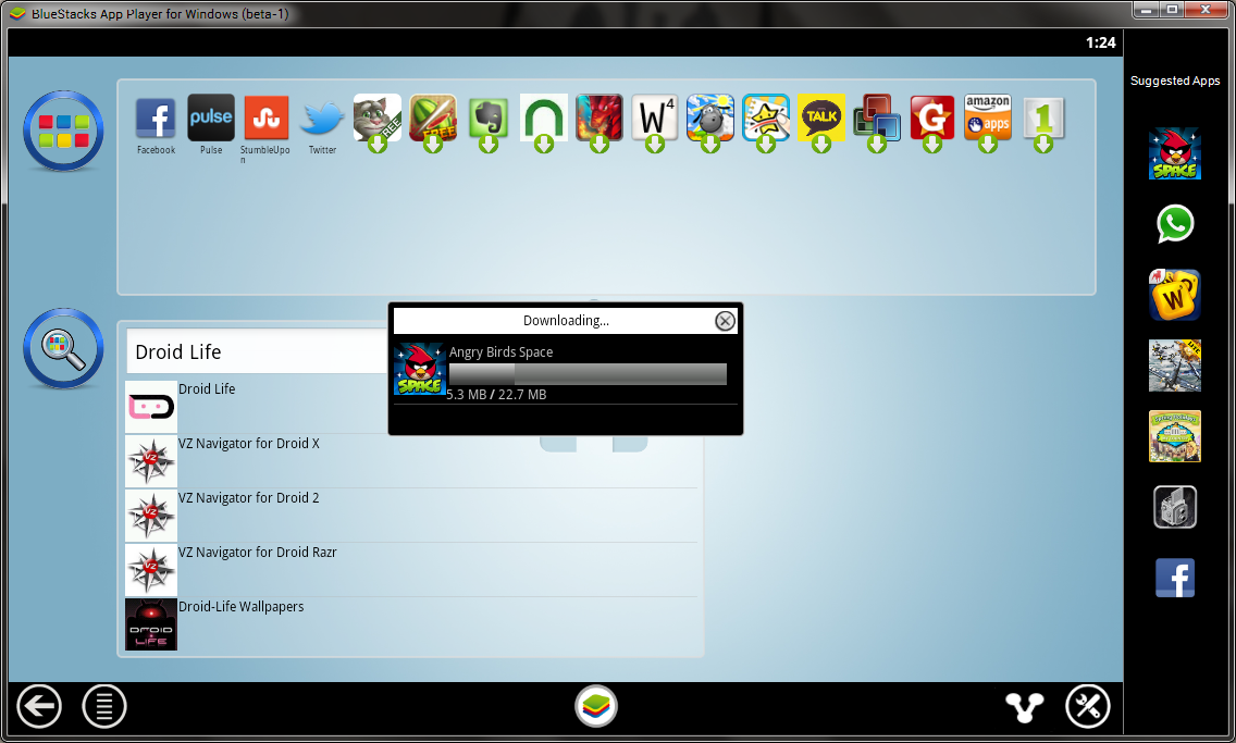 Bluestacks New Update Screenshot