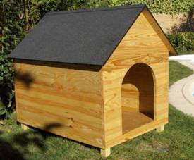 Cucha para perros casera