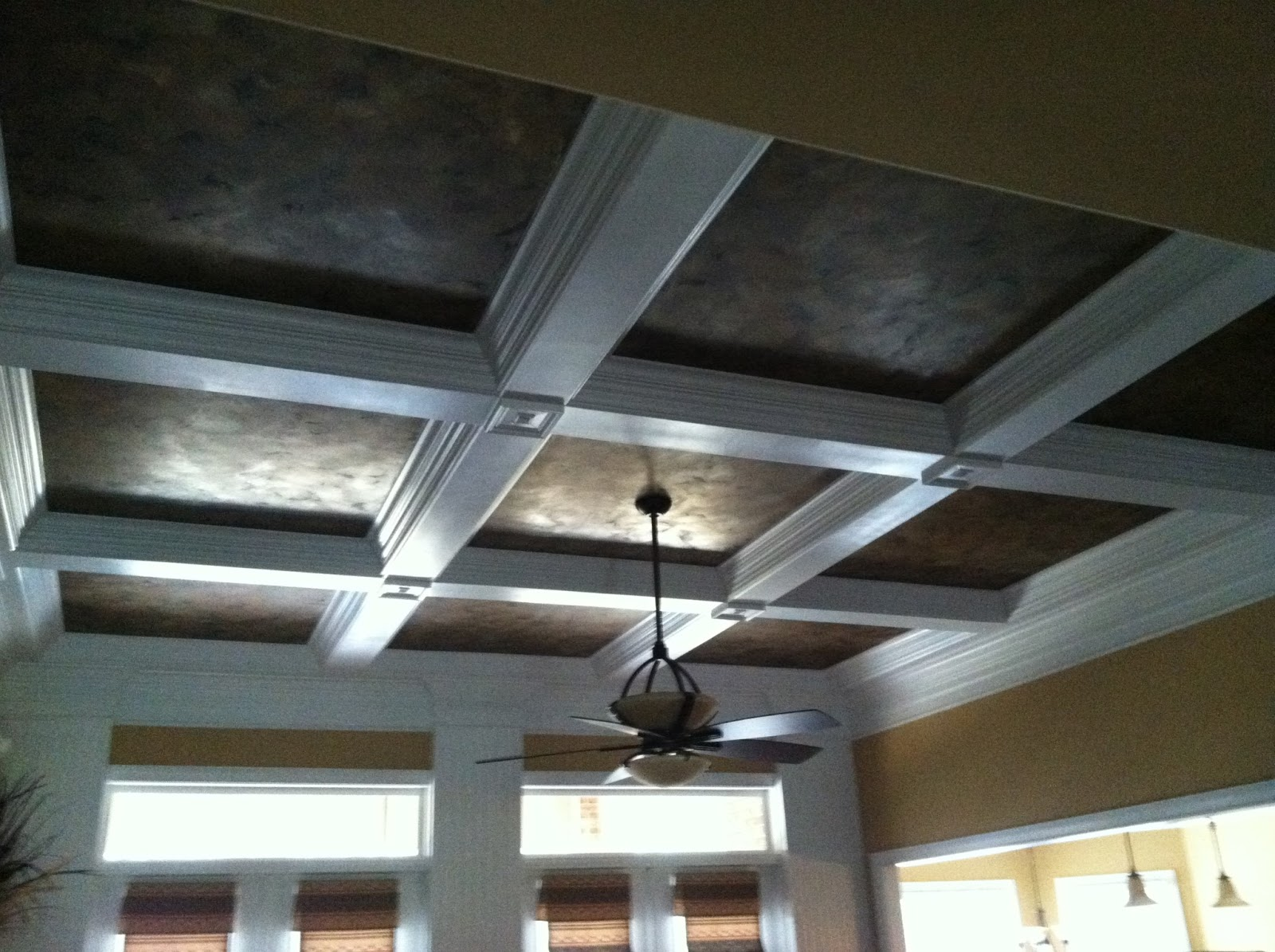Foyer Ceiling Jobs : Savard studios dramatic dining room and foyer ceiling