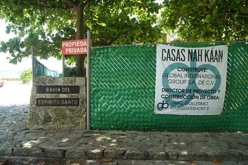 En playacar piden permiso para hacer una barda y terminan construyendo condominios junto a la - Permisos para construir una casa ...