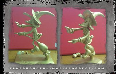 Bruixa d'Or RU-MOR escultura