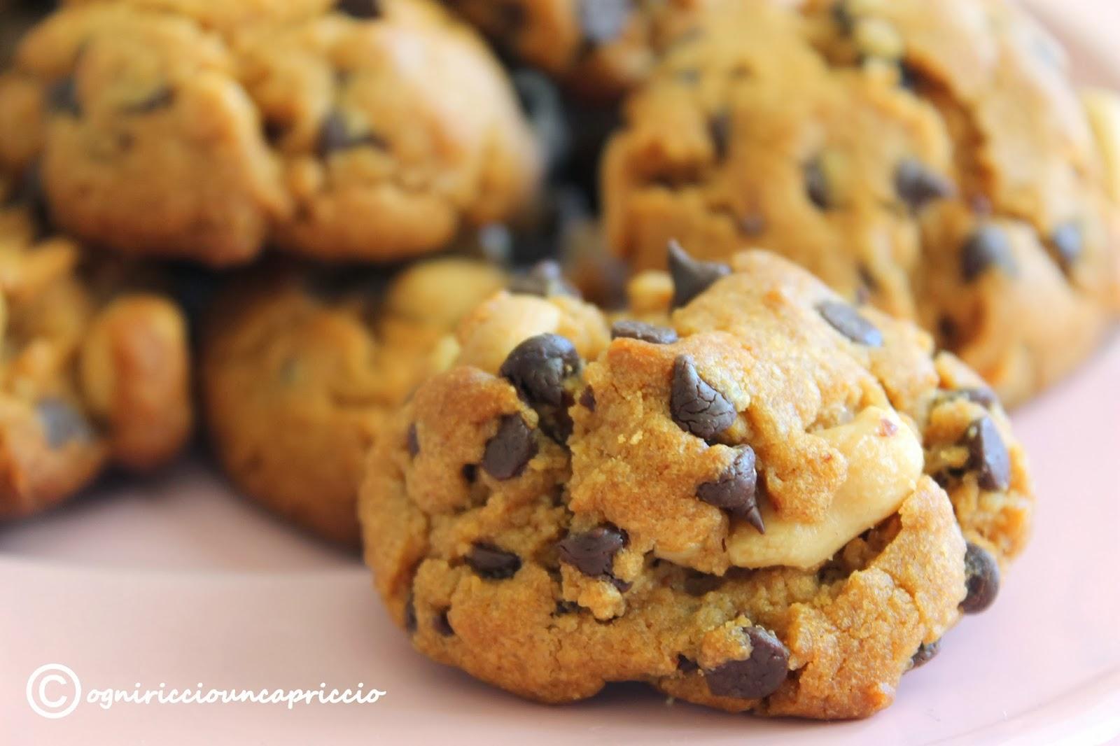flourless peanut butter cookies e pezzi di vita