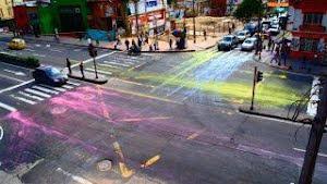 Un Acto para llenarse de color mientras caminas