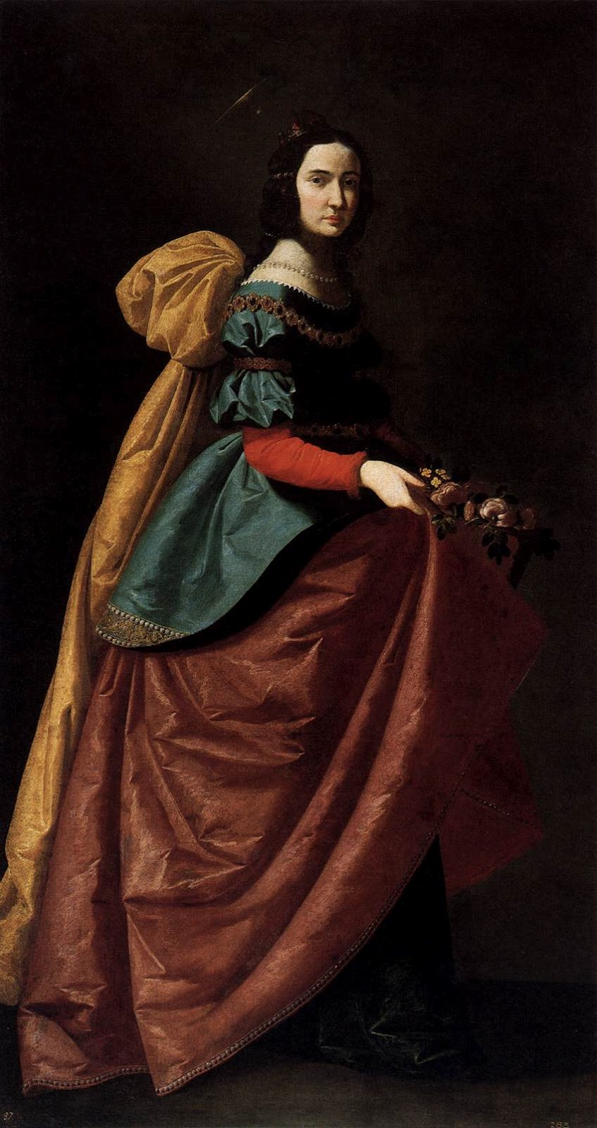 francisco de zurbaran st elizabeth of portugal
