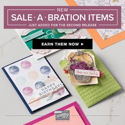 Sale-A-Bration 2nd Release!