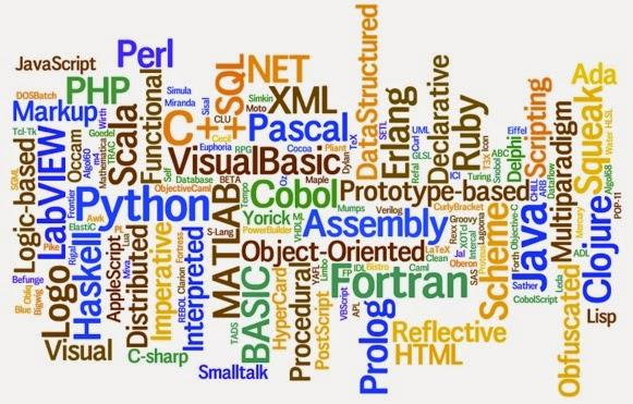 Bahasa pemrograman web yang populer ? dan database yang digunakan