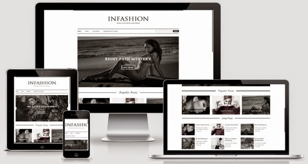 iNFashion Responsive Blogger Template Free Download