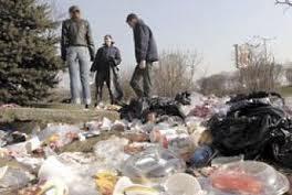 Естония събират боклук снимки почистване