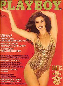 Fabiana Playboy 1982