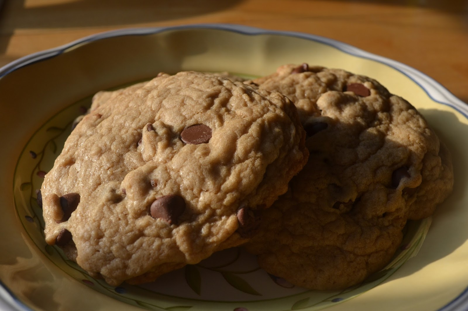Making Miracles: Best Big, Fat, Chewy Chocolate Chip Cookie
