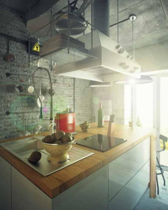 desain interior gaya casual, desain rumah impian