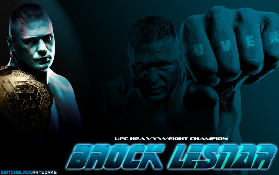 UFC WWE Wrestler Brock Lesnar Wallpaper