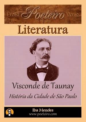 História da Cidade de São Paulo, de Visconde de Taunay