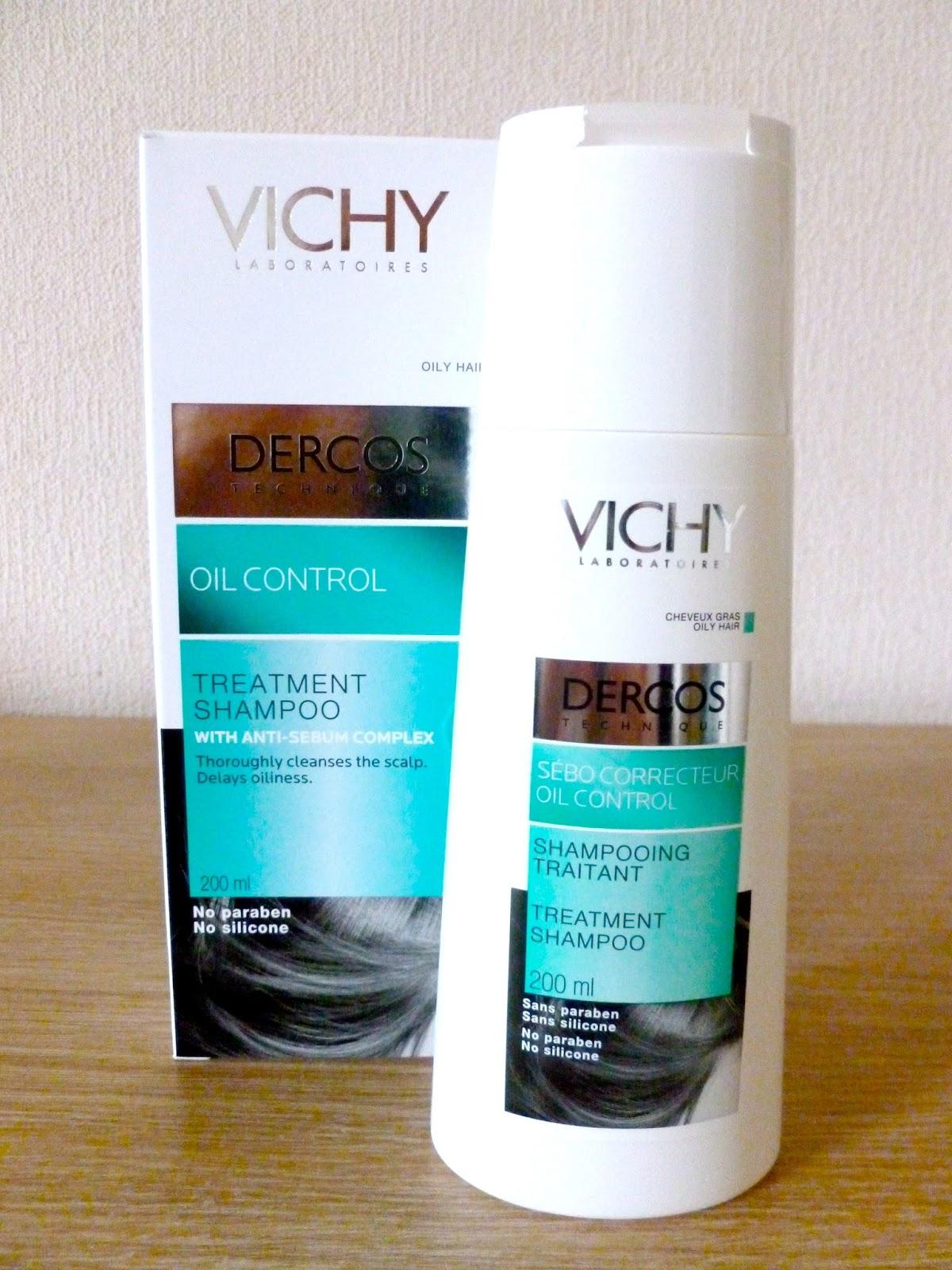 vichy dercos oil control treatment shampoo mammaful zo beauty fashion lifestyle. Black Bedroom Furniture Sets. Home Design Ideas
