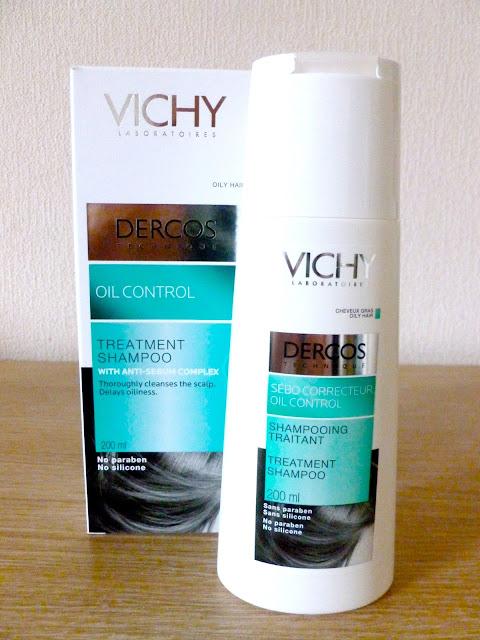 Vichy Dercos Oil Control Treatment Shampoo