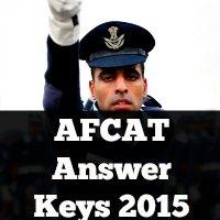 AFCAT 1 Answer Keys 2015