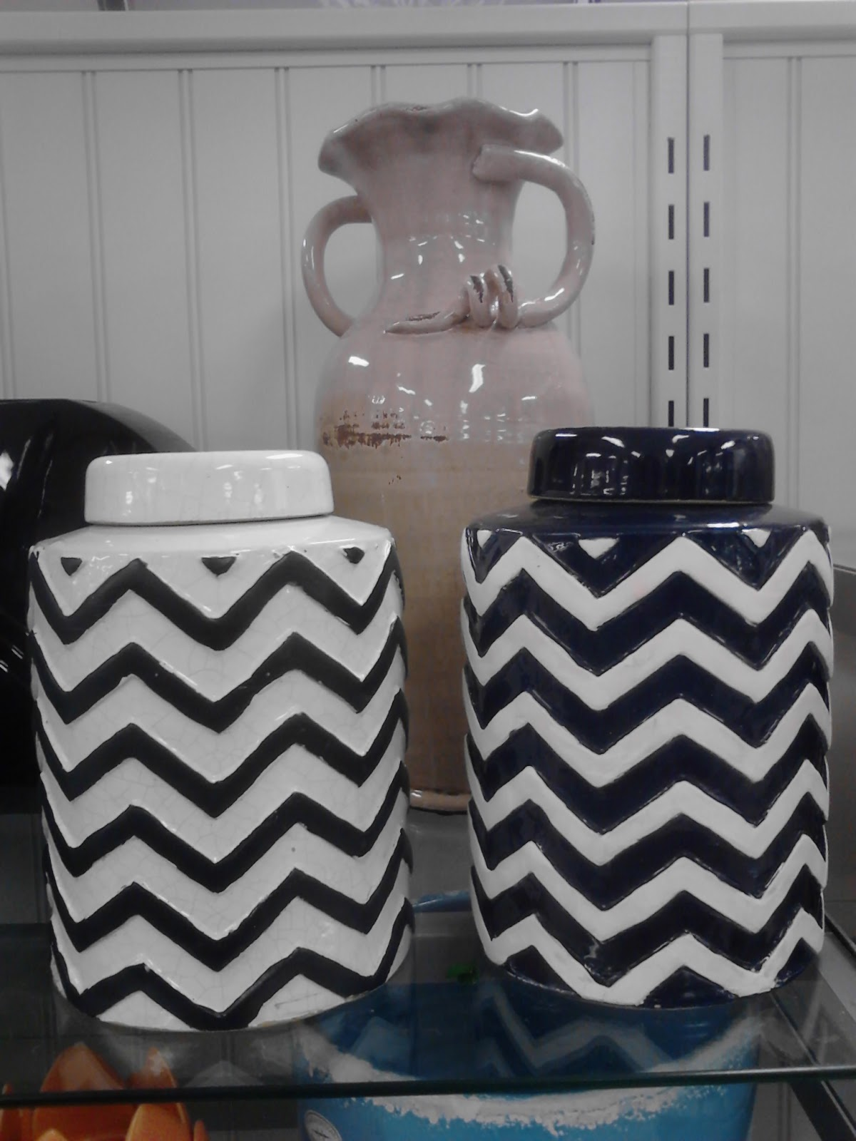 chevron accents