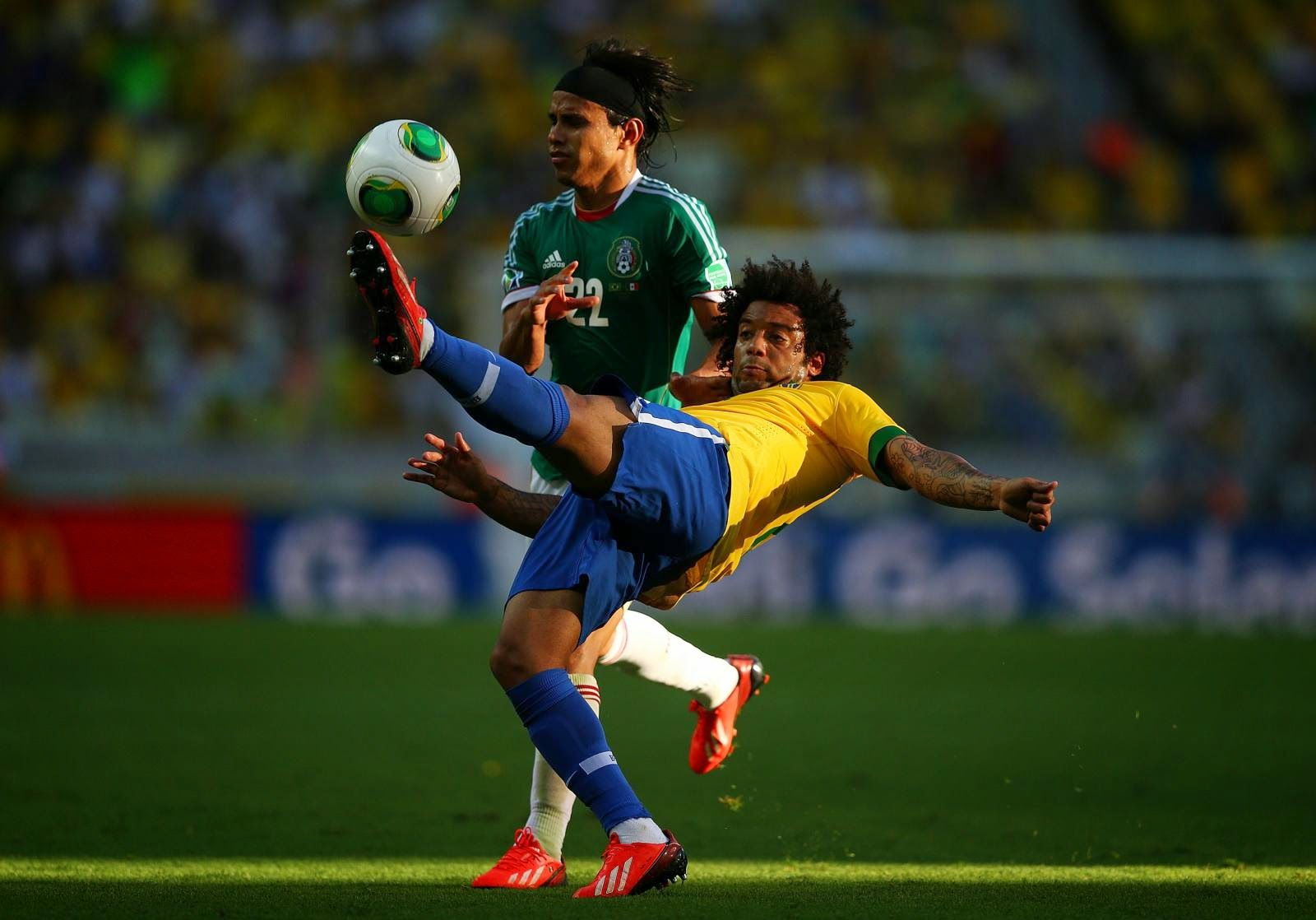 Mexico vs Brazil - World Cup Day 6