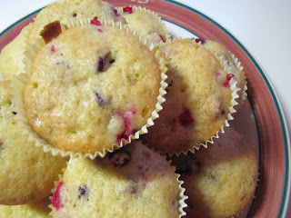 {Featured Recipe Thursday} Orange Cranberry Muffins